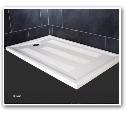 Easa group barrier free or low level access shower bases and wet floor formers accessible - Walk in shower base ...